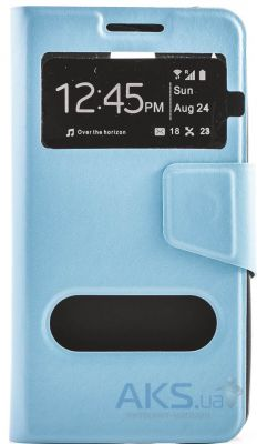 Чехол Book Cover TPU HTC One M9 Blue