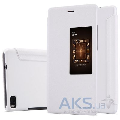 Чехол Nillkin Sparkle Leather Series Huawei Ascend P8 White
