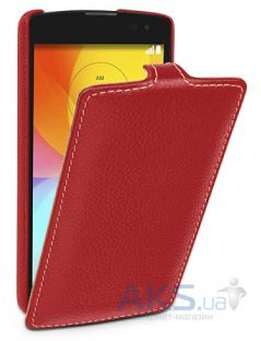 Чехол TETDED Leather Flip Series LG L Fino D290, L Fino D295 Dual Red