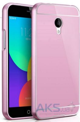 Чехол MSVII Metal Series Meizu M2, M2 Mini Pink