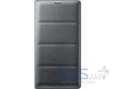 Чехол Samsung Flip Wallet Cover для Galaxy Note 4 Black (EF-WN910BCEGRU)