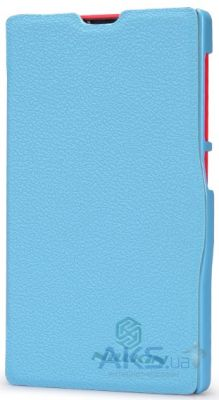 Чехол Nillkin Fresh Leather Series Nokia X Blue