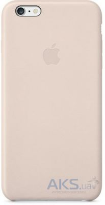 Чехол Apple Leather Case iPhone 6 Soft Pink (MGR52)