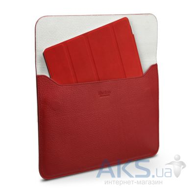 Чехол для планшета SGP Leather Case illuzion Sleeve Series Dante Red for iPad Air (SGP07633)