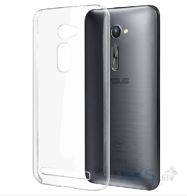 Чехол Original TPU Ultra Thin Asus Zenfone 2 ZE551ML, ZE550ML Transparent