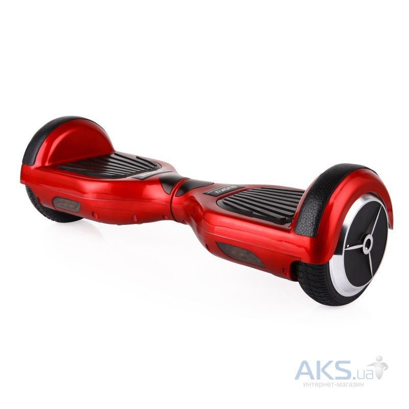 Гироскутер SmartBalance Wheel Simple 6,5' Red+strip