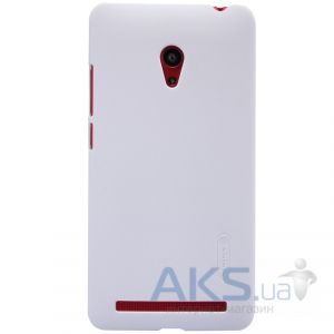 Чехол Nillkin Super Frosted Shield Asus ZenFone 6 A601CG White