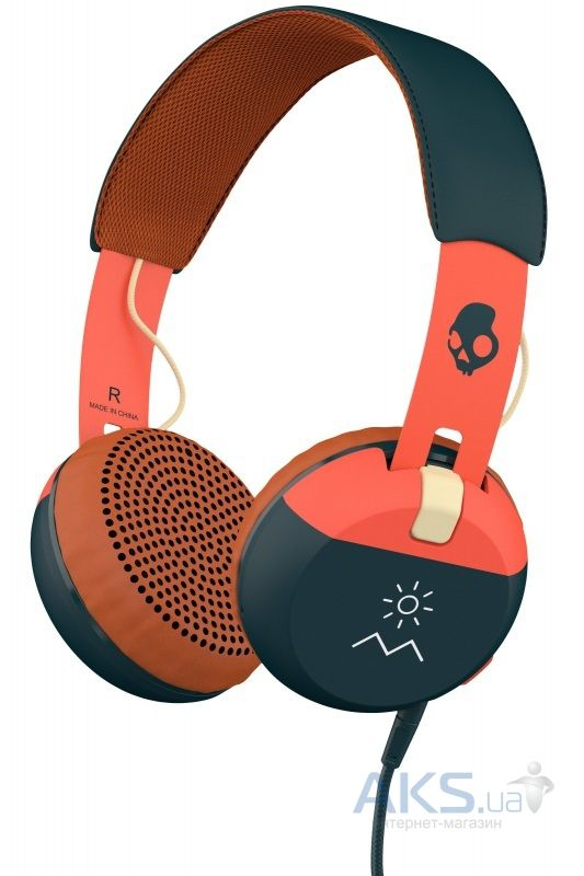 Наушники (гарнитура) Skullcandy Grind Explore/Evergreen/Cream (S5GRHT-467)