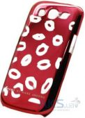 Чехол Marc Jacobs Lips Case Samsung i9300 Galaxy S3 Red