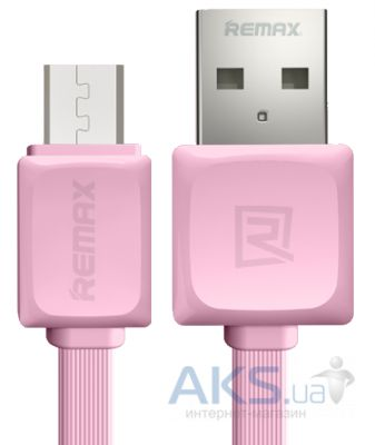 Кабель USB Remax Fast Data Cable for micro USB Pink (RC-008m/5-050)