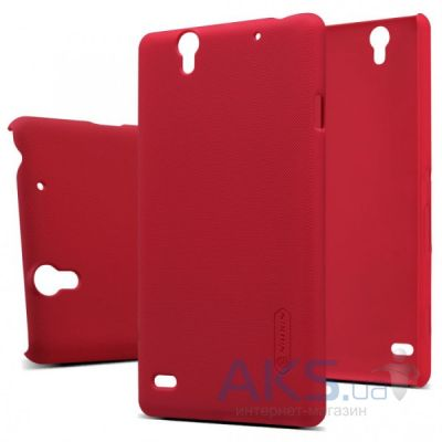 Чехол Nillkin Super Frosted Shield Sony Xperia C4 E5333 Red
