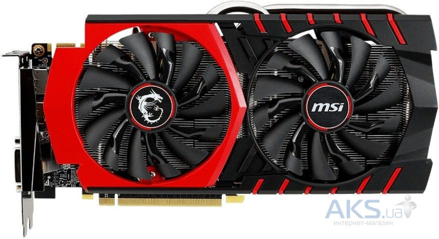 Видеокарта MSI GeForce GTX 970 GAMING 4G
