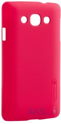 Чехол Nillkin Super Frosted Shield LG optimus L60 X145 Red
