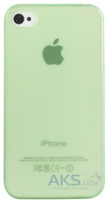 Чехол Perfektum UltraThin Case for Apple iPhone 4/4S Mate Green