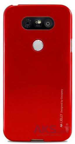 Чехол Mercury TPU Jelly Metal Series LG G5 H860, G5 SE H845 Red