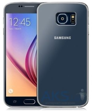 Чехол Original TPU Ultra Thin Samsung G928 Galaxy S6 Edge Plus Transparent Grey