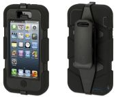 Вид 3 - Чехол Griffin Survivor Series Apple iPhone 5, iPhone 5S, iPhone SE Black (GB35677)