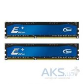 Оперативная память Team DDR3 8GB (2x4GB) 1600 MHz Elite Plus Blue (TPBD38G1600HC11DC01)