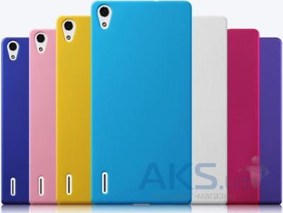 Чехол Original Silicon Case for Huawei Ascend P7 Pink
