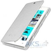 Чехол Melkco Book Leather Case Lenovo A390 White (LNA390LCFB2WELC)