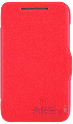 Чехол Nillkin Fresh Leather Series HTC Desire 200 Red