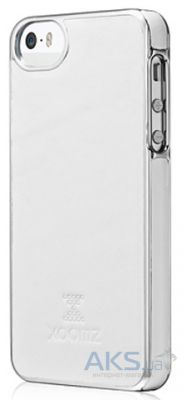 Чехол Xoomz Luxury Electroplating Apple iPhone 5, iPhone 5S, iPhone 5SE White