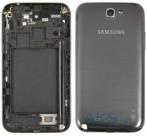 Корпус Samsung N7100 Galaxy Note 2 Grey