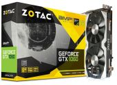 Видеокарта Zotac GeForce GTX 1060 AMP! Edition 6144MB (ZT-P10600B-10M)