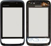 Сенсор (тачскрин) для Huawei U8230 with frame Original Black