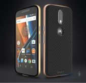 Чехол iPaky Hybrid Series Motorola Moto G4, G4 Plus Rose Gold