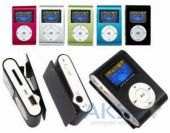 Mp3-плеер Slim Flash Drive + LCD Blue