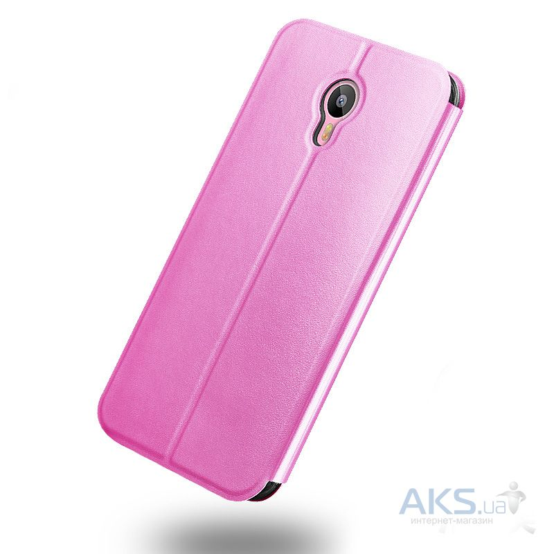 Чехол Mofi Leather Series Meizu M2 Note Pink