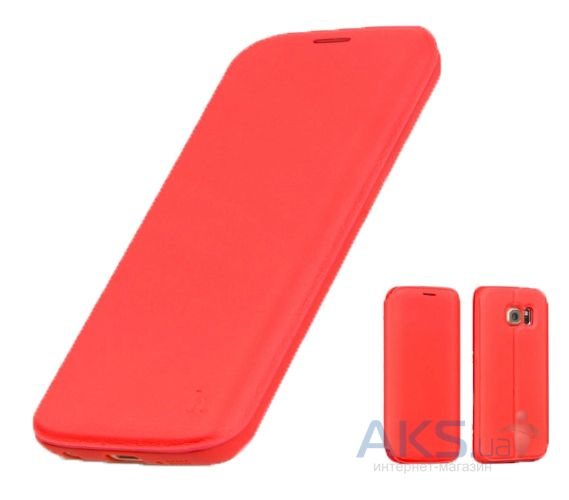 Чехол Hoco Juice Nappa Series Samsung G928 Galaxy S6 Edge Plus Red
