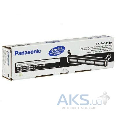Картридж Panasonic KX-FAT411A (KX-FAT411A7) Black