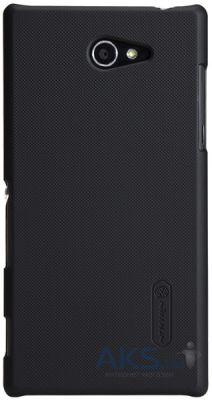 Чехол Nillkin Super Frosted Shield Sony Xperia M2 black