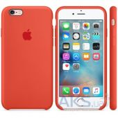 Чехол Apple Silicone Case for iPhone 6 Plus, iPhone 6S Plus Orange (MKXQ2)