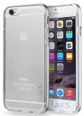 Чехол Laut Exo-Frame Aluminium Apple iPhone 6 Plus, iPhone 6s Plus Silver (LAUT_IP6P_EX_SL)
