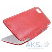 Чехол Sirius book case for Doogee X5 Red