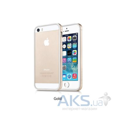 Чехол ITSkins Heat for iPhone 5/5S Gold (APH5-NHEAT-GOLD)