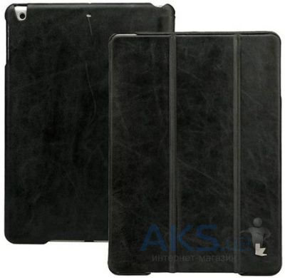 Чехол для планшета JisonCase Vintage Leather Smart Case for iPad Air Black [JS-ID5-01A10]