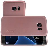 Вид 4 - Чехол Nillkin Super Frosted Shield Samsung G935 Galaxy S7 Edge Rose Gold