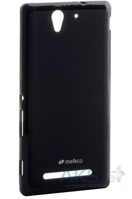 Чехол Melkco Poly Jacket TPU для Sony Xperia C3 Black