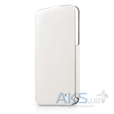 Чехол ITSkins Plume Precious for iPhone 5/5S White/Silver (APH5-FETHR-WHSL)