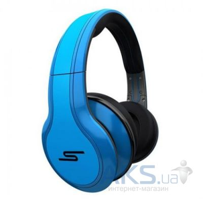 Наушники (гарнитура) SMS-Audio STREET by 50 Wired Over-Ear Headphones Blue