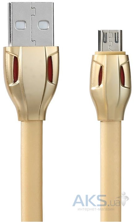 Кабель USB Remax Cobra micro USB Cable Gold (RC035m / RC-035m)
