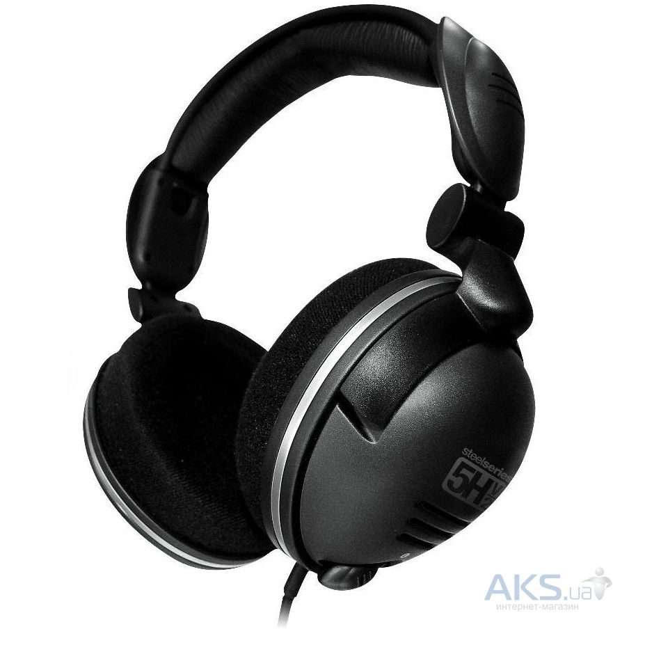 Гарнитура для компьютера Steelseries 5H v2 Black (61000)