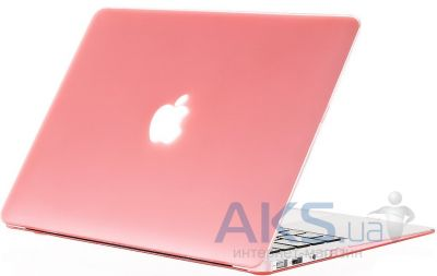 Чехол Kuzy Rubberized Case for MacBook Air 13 Pink