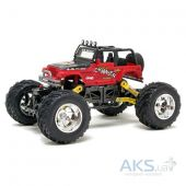 Игрушка на радиоуправлении New Bright Pro Dirt Jeep Wrangler Rock Crawler 1:18 (1800) Red