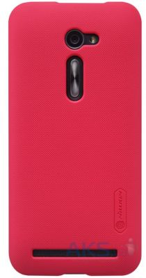Чехол Nillkin Super Frosted Shield Asus Zenfone 2 ZE500CL Red