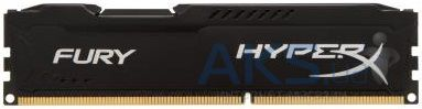 Оперативная память Kingston 4Gb DDR3 1600 MHz HyperX Fury Black (HX316C10FB/4)